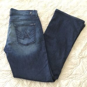 7 For All Mankind 'A' Pocket Bootcut Jeans - Sz 33